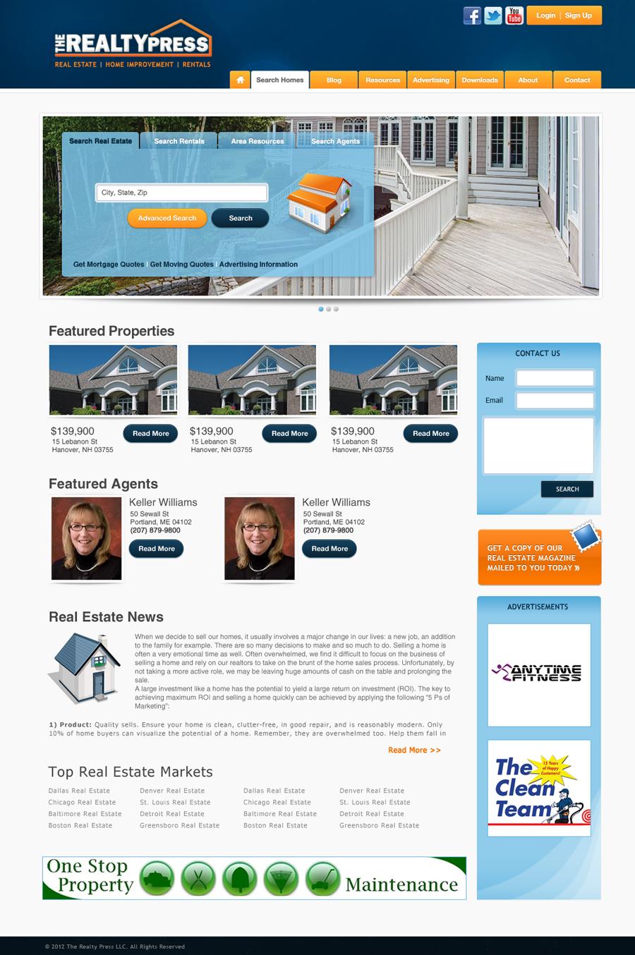 Portfolio Website Design - Moon Web Solutions